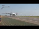Посадка самолётов на аэродромный участок дороги GoPro