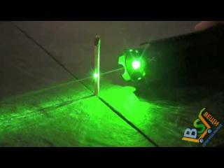 Мощная зеленая лазерная указка, поджигающая спичку на расстоянии 1000мВт - оригинальный подарок
