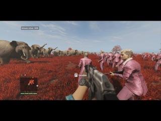 Far Cry 4 PC Editor FUN 100 Elephants VS 100 Pagan Min's