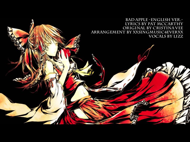 Bad Apple (Touhou) English Cover by Lizz Robinett