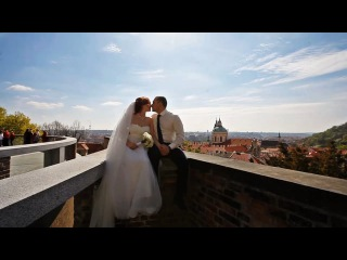 Denis and Tatiana. Czech Republic, Prague, Hluboka nad Vltavou