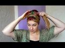 Українська хустка в стилі Бохо: африканський тюрбан а ла юдейка