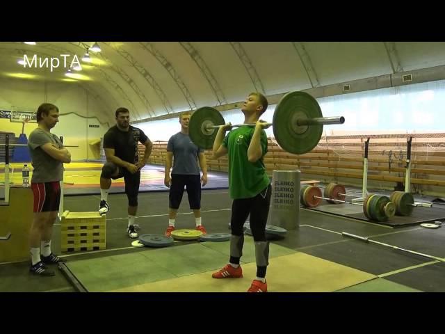 Weightlifting Technique Сlean and Jerk in detail Berestov Zakharov Dmitriev Krasnov