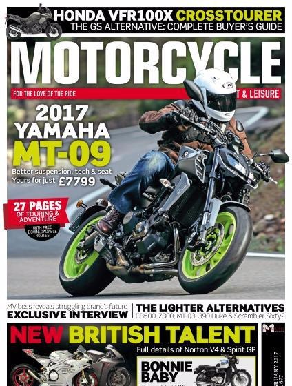 Motorcycle Sport Leisure-February 2017