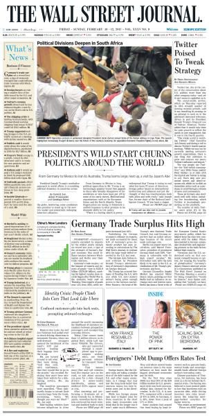 The Wall Street Journal Europe February 10 2017 FreeMags