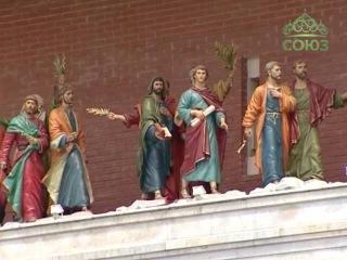 Святейший Патриарх Кирилл посетил Патриаршую площадь города Йошкар-Олы