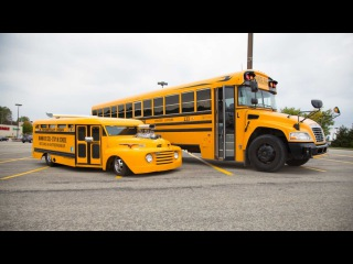 Souped Up School Bus: Custom Motor Helps Charities Across The World