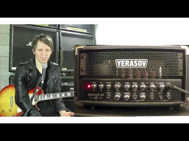 YERASOV Gavrosh 10 Amp Head Демо на Русском