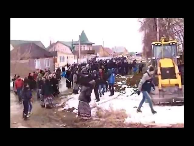 Цыгане устроили бунт из за коррумпированности газовых служб