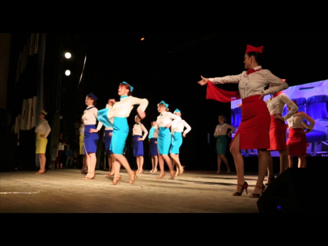 Танец стюардесс Latina Club ladies style