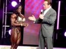 Iris Kyle meets Arnold Schwarzenegger at Arnolds Classic 2013