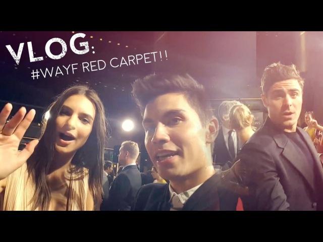 VLOG Sam Takes Over WAYF RED CARPET!! (wZac Efron!)