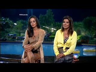 A Fazenda 8 - Eliminao Mara x Carla de Quinta 19 11 2015