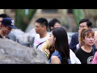 [fancam]150709 Geurilla Date Filming