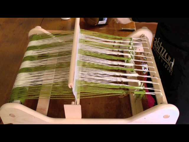 Simple warping for a Rigid Heddle loom