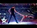 Martin and Marielle's highflying dance routine | Semi-Final 2 | Britain's Got Talent 2013