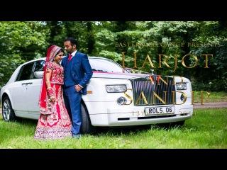 Sikh Punjabi Wedding Highlights 2014 UK London | Harjot & Sandy | by Eastern Elegance