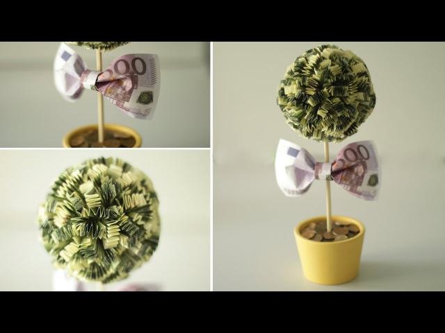 DIY: Денежное дерево. Как сделать топиарий своими руками