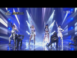 Выступление  2NE1 - COME BACK HOME @M COUNTDOWN: NO.1.