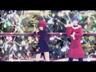 MMD Social Shake Mariya/Kaito/Meiko