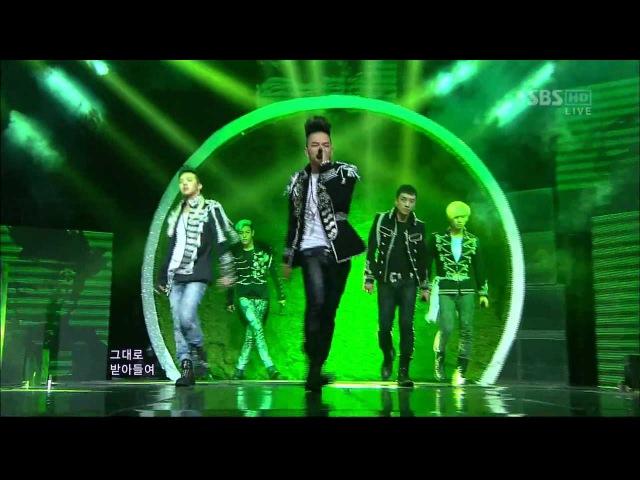 BIGBANG 0429 SBS Inkigayo FANTASTIC BABY