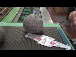 Производство пряжи для ручного вязания из 100% монгольского пуха яка