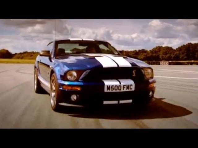 Mustang GT500 car review Top Gear BBC