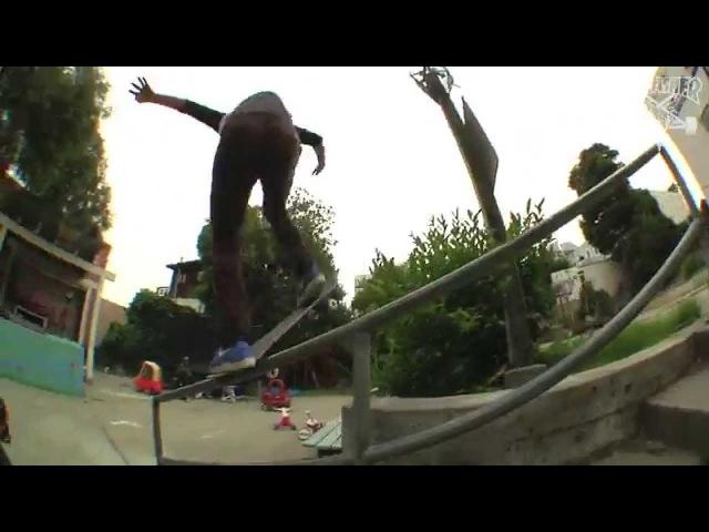 EPIC TRICKS: Miika Adamov's 360 flip Noseblunt