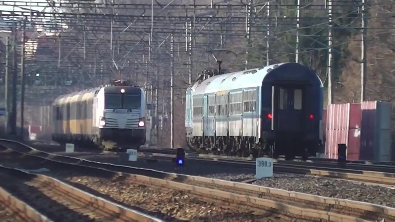 Zeleznice - Cekani na Vectrona II.