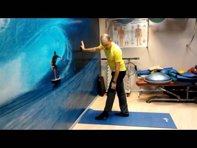 Массаж стопы специальным мячиком - часть 2 (spiky ball foot massage - part 2)