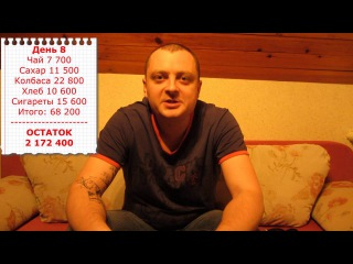 Как прожить на три миллиона белорусских рублей. День 8