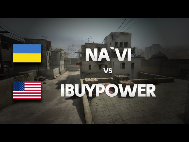 Na`Vi vs iBUYPOWER on de dust2 1st map @ CKoTH by ceh9