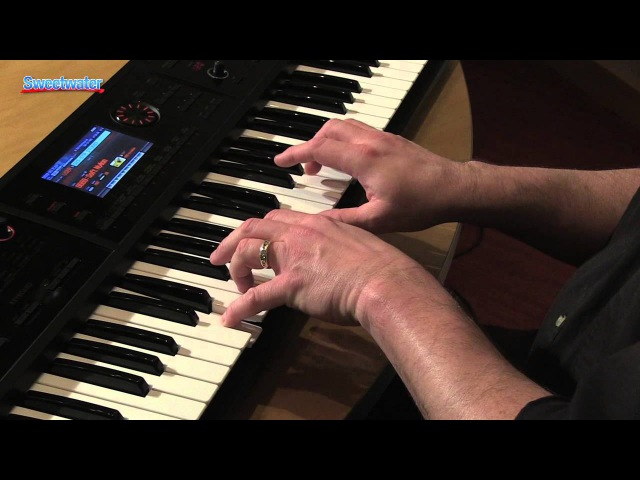 Roland FA-06 FA-08 Keyboard Workstation Demo by Daniel Fisher