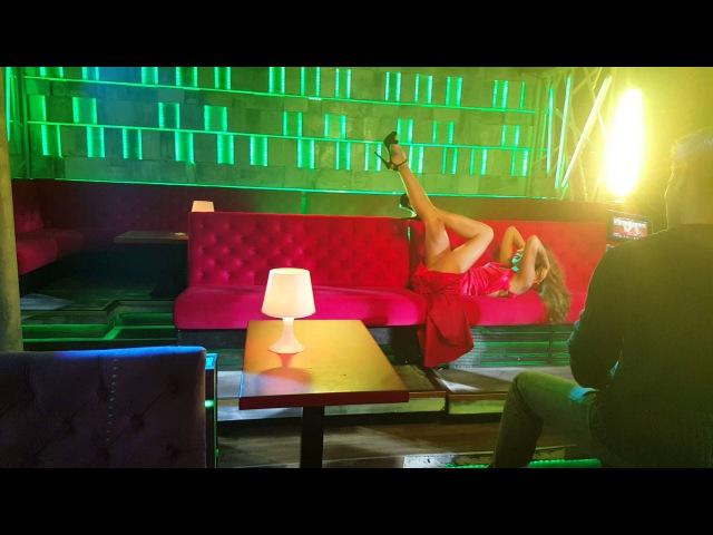 Natasa Savija Sexy ples Evrokrem Barabe i In Vivo snimanje spota FERARI!