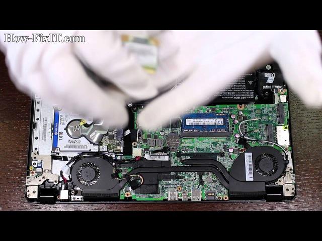 Acer Aspire V5 573G замена моуля вайфай от how