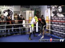 Saul Canelo Alvarez full sparring session, prepares for Shane Mosley