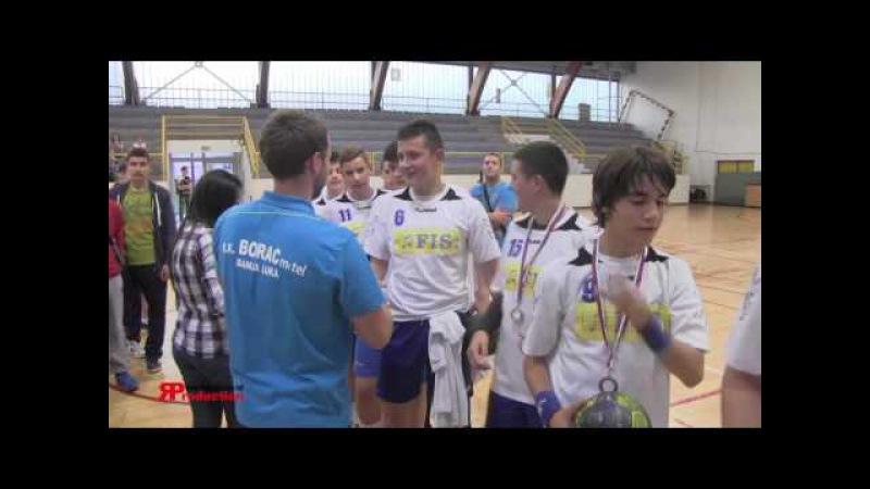 Zavrsnica RSRS za mlade kadete generacija 2000 dodjela medalja kadrovi