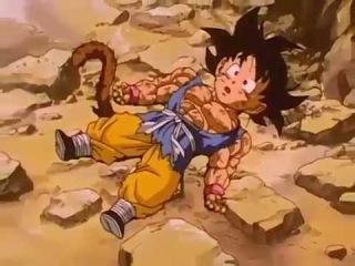 Goku se transforma ssj4