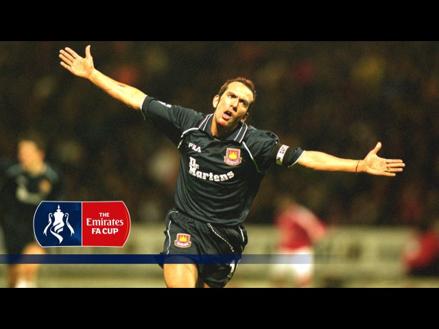 Paolo Di Canio's classic goal v Man Utd 2000 2001 FA Cup From The Archive