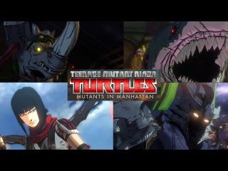 Teenage Mutant Ninja Turtles Mutants In Manhattan Soundtrack ALL BOSS FIGHT THEMES