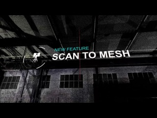 New Scan to Mesh Feature - Convert Point Clouds Into 3D Textured Mesh