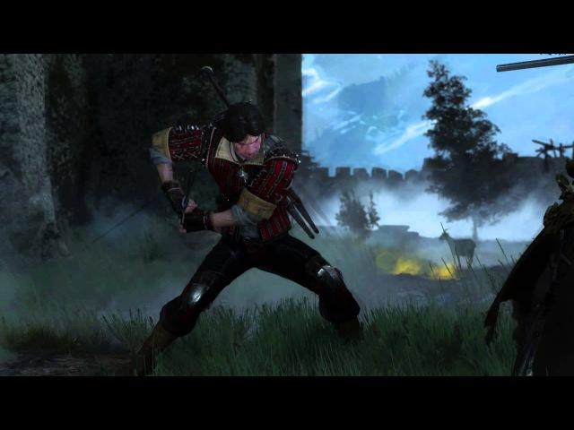 The Witcher 3 Эскель против Карантира Eskel vs Caranthir