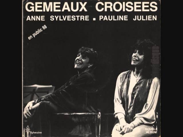 Extraits 'Gémeaux Croisés'(1987), spectacle musical [Pauline Julien/Anne Sylvestre] part 1