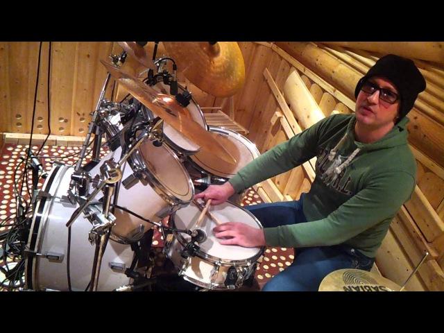 Барабаны Урок 1 | Первый Урок На Барабанах Для Начинающих | Обучение Игре На Ударных
