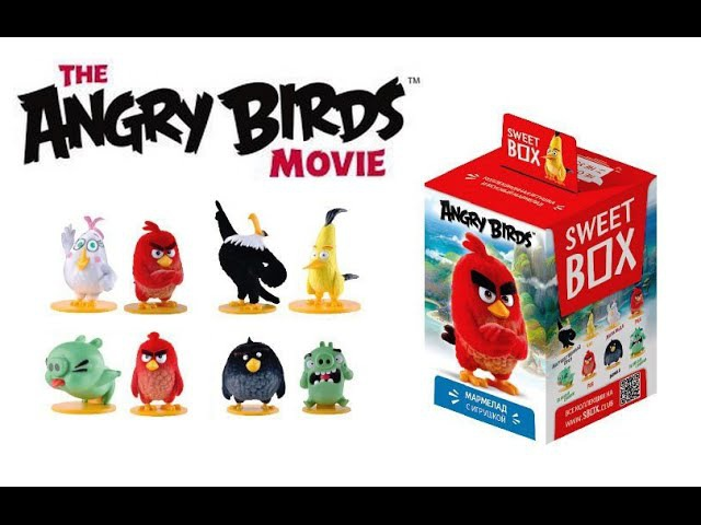 СВИТ БОКС Энгри Бёрдс в Кино Sweet Box The Angry Birds Movie 2016