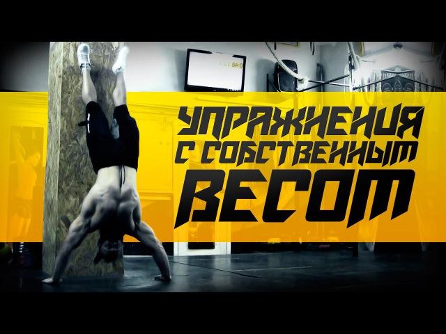 Упражнения с собственным весом Силовая тренировка от Бородача