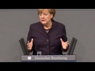 Меркель прокомментировала атаку на российский самолет