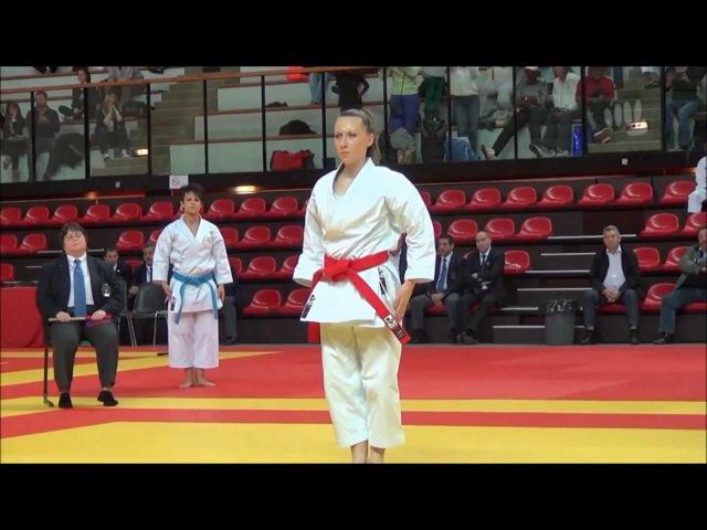 Sandy Scordo vs. Alexandra Feracci - 2013 French Female Kata Final