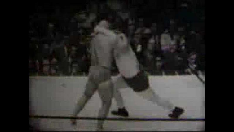 Ali Baba vs Red Brannigan 1930's professional wrestling match 10/11/39