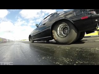 Tire shake | slow motion drag race launches gopro hero 3